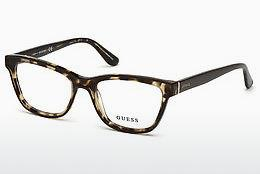 Lunettes design Guess GU2649 048 - Brunes, Dark, Shiny