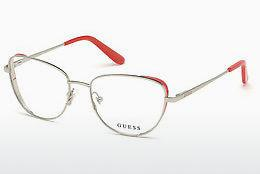 Lunettes design Guess GU2701 006 - Grises, Nickel, Tin, Dark, Shiny