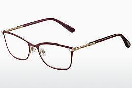 Lunettes design Jimmy Choo JC134 J6Y - Rouges, Or, Rose