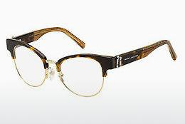 Lunettes design Marc Jacobs MARC 252 DXH - Brunes, Havanna, Or