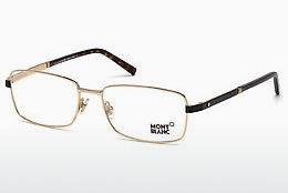 Lunettes design Mont Blanc MB0633 028 - Or