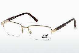 Lunettes design Mont Blanc MB0635 028 - Or