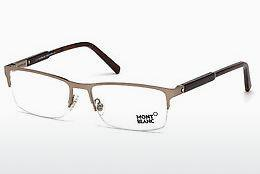 Lunettes design Mont Blanc MB0636 034 - Bronze, Bright, Shiny