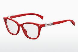 Lunettes design Moschino MOS500 C9A - Rouges