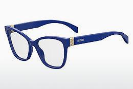 Lunettes design Moschino MOS510 PJP - Bleues