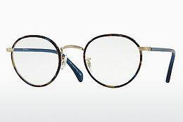 Lunettes design Paul Smith KENNINGTON (PM4073J 5273) - Bleues, Brunes, Havanna, Or