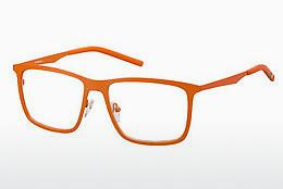 Lunettes design Polaroid PLD D202 1K0 - Orange