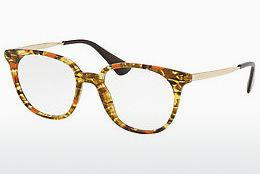 Lunettes design Prada PR 13UV KJN1O1 - Orange, Brunes, Havanna