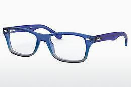 Lunettes design Ray-Ban Junior RY1531 3647 - Bleues, Grises