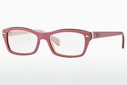 Lunettes design Ray-Ban Junior RY1550 3656 - Rose, Brunes