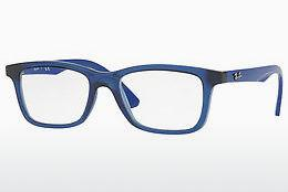 Lunettes design Ray-Ban Junior RY1562 3686 - Transparentes, Bleues
