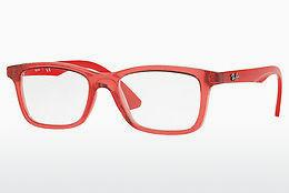 Lunettes design Ray-Ban Junior RY1562 3687 - Transparentes, Rouges