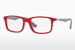 Lunettes design Ray-Ban Junior RY1570 3723 - Transparentes, Rouges