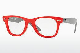 Lunettes design Ray-Ban Junior JUNIOR WAYFARER (RY9066V 3753) - Rouges