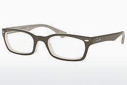 Lunettes design Ray-Ban RX5150 5778 - Grises, Bleues, Blanches