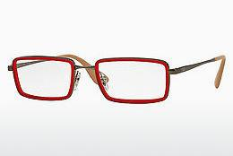 Lunettes design Ray-Ban RX6337 2856 - Rouges