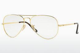 Lunettes design Ray-Ban Aviator (RX6489 2500) - Or