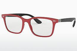 Lunettes design Ray-Ban RX7144 5772 - Rouges, Sand