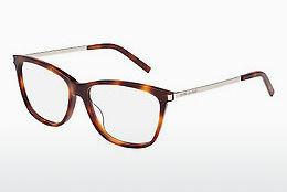 Lunettes design Saint Laurent SL 92 002 - Brunes, Havanna