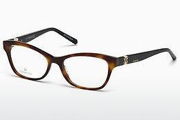 Lunettes design Swarovski SK5219 053 - Havanna, Yellow, Blond, Brown
