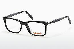 Lunettes design Timberland TB1363 001 - Noires, Shiny