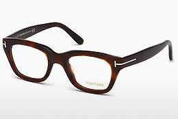 Lunettes design Tom Ford FT5178 052 - Brunes, Dark, Havana
