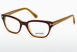 Lunettes design Tom Ford FT5207 047 - Brunes, Bright
