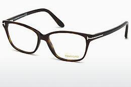 Lunettes design Tom Ford FT5293 052 - Brunes, Dark, Havana