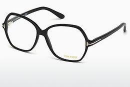 Lunettes design Tom Ford FT5300 001 - Noires, Shiny
