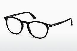 Lunettes design Tom Ford FT5401 001 - Noires, Shiny