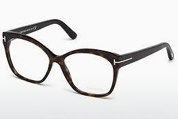 Lunettes design Tom Ford FT5435 052 - Brunes, Dark, Havana