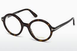 Lunettes design Tom Ford FT5461 052 - Brunes, Dark, Havana