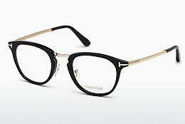 Lunettes design Tom Ford FT5466 001 - Noires, Shiny