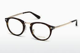Lunettes design Tom Ford FT5467 052 - Brunes, Dark, Havana