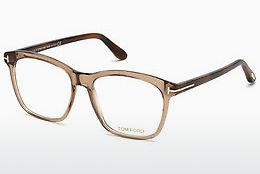 Lunettes design Tom Ford FT5481-B 045 - Brunes, Bright, Shiny