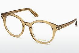 Lunettes design Tom Ford FT5491 045 - Brunes, Bright, Shiny