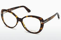 Lunettes design Tom Ford FT5492 052 - Brunes, Dark, Havana