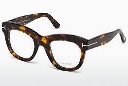 Lunettes design Tom Ford FT5493 052 - Brunes, Dark, Havana