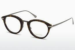 Lunettes design Tom Ford FT5497 052 - Brunes, Dark, Havana