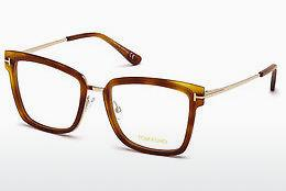 Lunettes design Tom Ford FT5507 053 - Havanna, Yellow, Blond, Brown