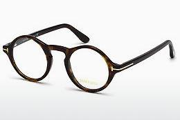 Lunettes design Tom Ford FT5526 052 - Brunes, Dark, Havana