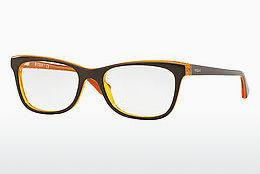Lunettes design Vogue VO2763 2279 - Brunes, Jaunes, Orange
