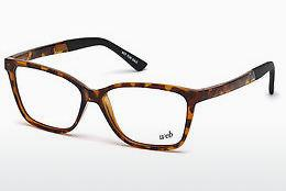 Lunettes design Web Eyewear WE5188 053 - Havanna, Yellow, Blond, Brown