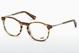 Lunettes design Web Eyewear WE5221 048 - Brunes, Dark, Shiny
