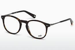 Lunettes design Web Eyewear WE5221 052 - Brunes, Dark, Havana