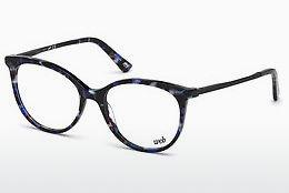 Lunettes design Web Eyewear WE5238 090 - Bleues, Shiny