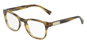 Dolce & Gabbana DG3260 3063 STRIPED BROWN