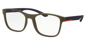 Prada Sport PS 08GV UR61O1 BROWN/BLUE RUBBER