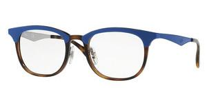 Ray-Ban RX7112 5729 HAVANA TOP MATTE BLUE