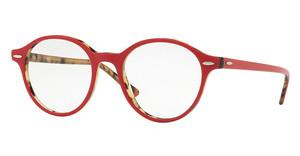 Ray-Ban RX7118 5714 TOP BORDEAUX ON HAVANA GREEN